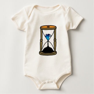 ¡El tiempo está corriendo hacia fuera! Body De Bebé