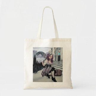 el tiempo guarda el bolso del faery del steampunk  bolsa de mano