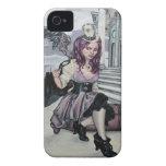 el tiempo guarda la zarzamora del faery del iPhone 4 Case-Mate protector