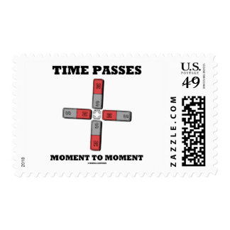 El tiempo pasa el momento al momento (el tetrapolo estampilla