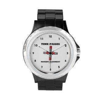 El tiempo pasa el momento al momento (el tetrapolo reloj de mano