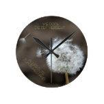 """""""el tiempo trascurre"""" by mysteryella reloj de pared"""