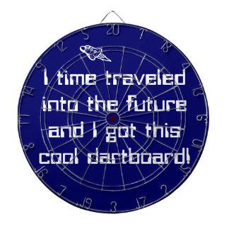 El tiempo viajó en el Dartboard futuro