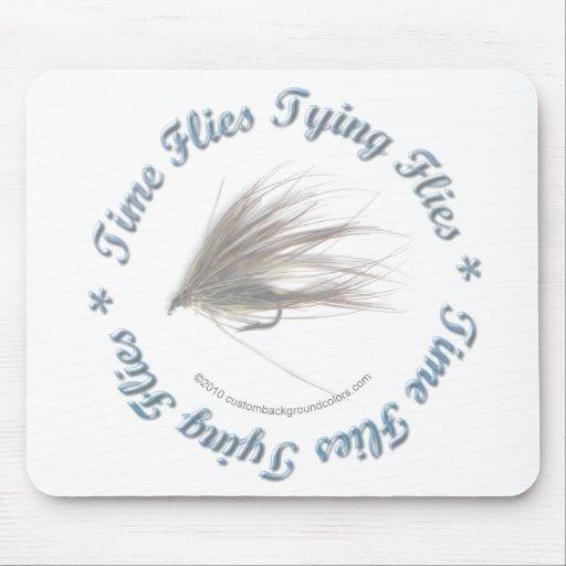 El tiempo vuela atando moscas tapete de raton