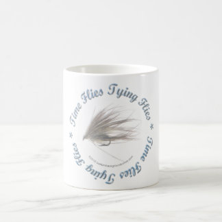 El tiempo vuela atando moscas taza
