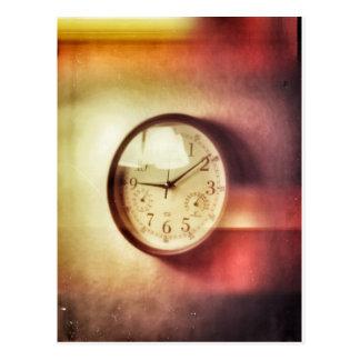 El tiempo vuela cerca tarjetas postales