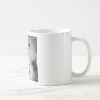 El tiempo vuela el contemporáneo tazas de café