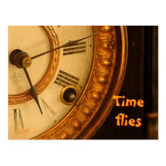 El tiempo vuela postal