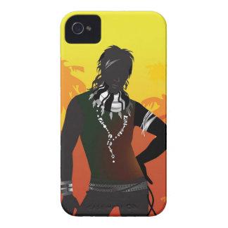 Él tiene el caso del iPhone 4 de la mirada iPhone 4 Case-Mate Carcasa