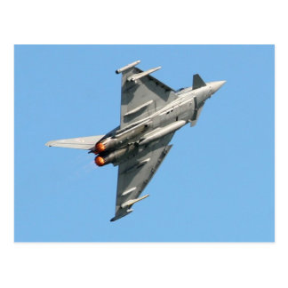 El tifón de Eurofighter Tarjeta Postal