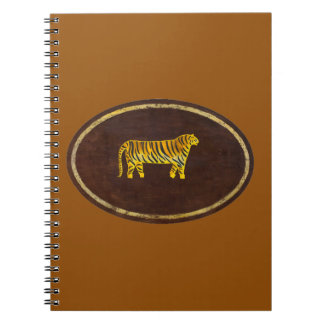 El tigre 2009 spiral notebook
