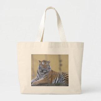 El tigre bolsa tela grande