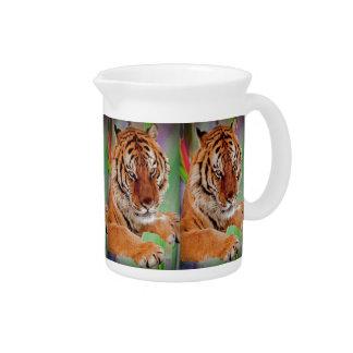El tigre de Bengala Jarron