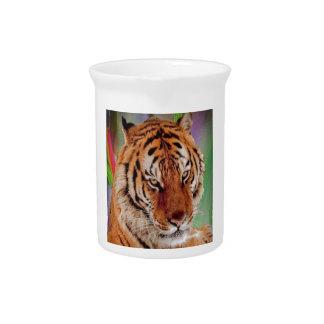 El tigre de Bengala Jarras