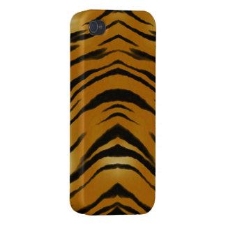 El tigre de los Arty raya la caja del teléfono del iPhone 4/4S Fundas