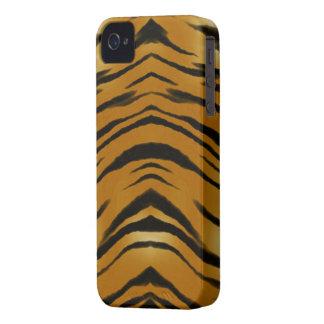 El tigre de los Arty raya la caja del teléfono del iPhone 4 Case-Mate Carcasas