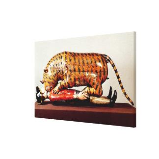 El tigre de Tipu, c.1790 (madera) Impresiones De Lienzo
