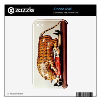 El tigre de Tipu, c.1790 (madera) iPhone 4S Calcomanía