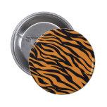 El tigre enrrollado raya los regalos de los modelo pin