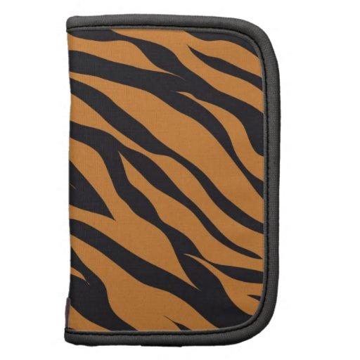 El tigre enrrollado raya los regalos de los modelo organizador