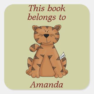 El tigre lindo este libro pertenece al pegatina de