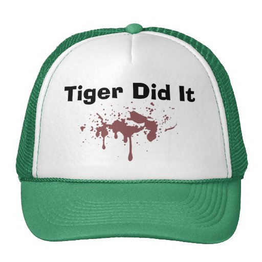 El tigre lo hizo gorro de camionero