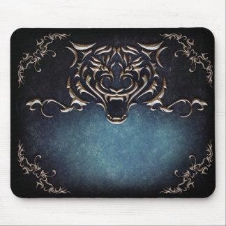 El tigre Mousepad/puso sus palabras Alfombrillas De Raton
