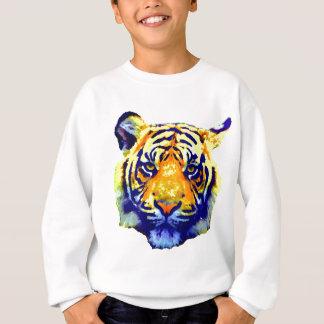 El tigre observa arte pop playeras