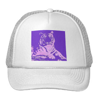 el tigre púrpura gorra