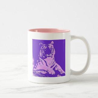 el tigre púrpura tazas