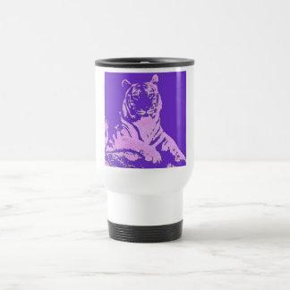 el tigre púrpura taza de café
