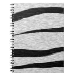 El tigre raya el modelo libreta espiral