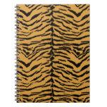 El tigre raya el modelo libros de apuntes