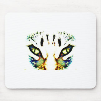 El tigre reflejado tapetes de ratón