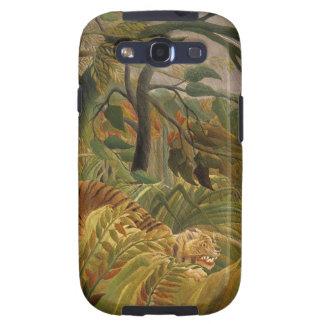 El tigre Samsung de Rousseau encajona Galaxy SIII Cárcasa