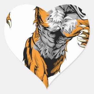 El tigre se divierte el funcionamiento de la masco