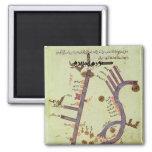 El Tigris y el Éufrates Imán Cuadrado
