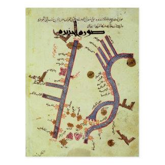 El Tigris y el Éufrates Postales