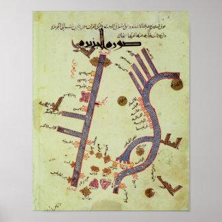 El Tigris y el Éufrates Póster