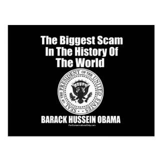 El timo más grande de Obama- en la historia del Postal