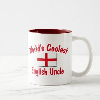 El tío inglés más fresco taza de dos tonos
