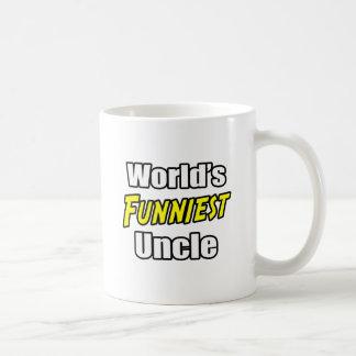 El tío más divertido del mundo taza