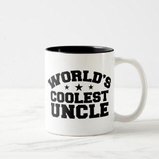 El tío más fresco del mundo taza de café