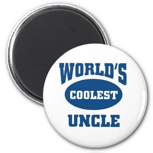 El tío más fresco imán redondo 5 cm