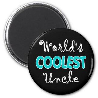 El tío más fresco Magnet del mundo Iman Para Frigorífico
