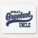 El tío más grande del mundo alfombrillas de raton