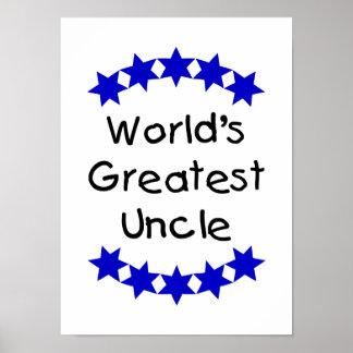 El tío más grande del mundo (estrellas de la marin impresiones
