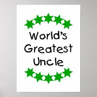 El tío más grande del mundo (estrellas del verde) impresiones