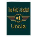 El tío más grande del mundo felicitacion