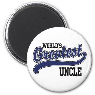 El tío más grande del mundo imán de frigorífico